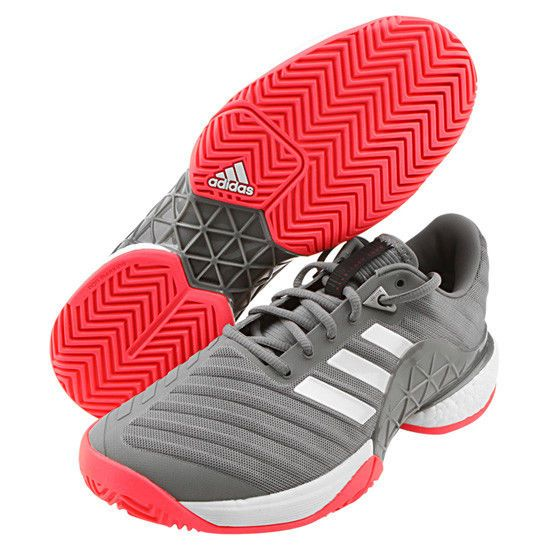 the best attitude d7d74 09bdc adidas Barricade Boost 2018 Men s Tennis Shoes Racquet Miami Open Black  AH2094  adidas