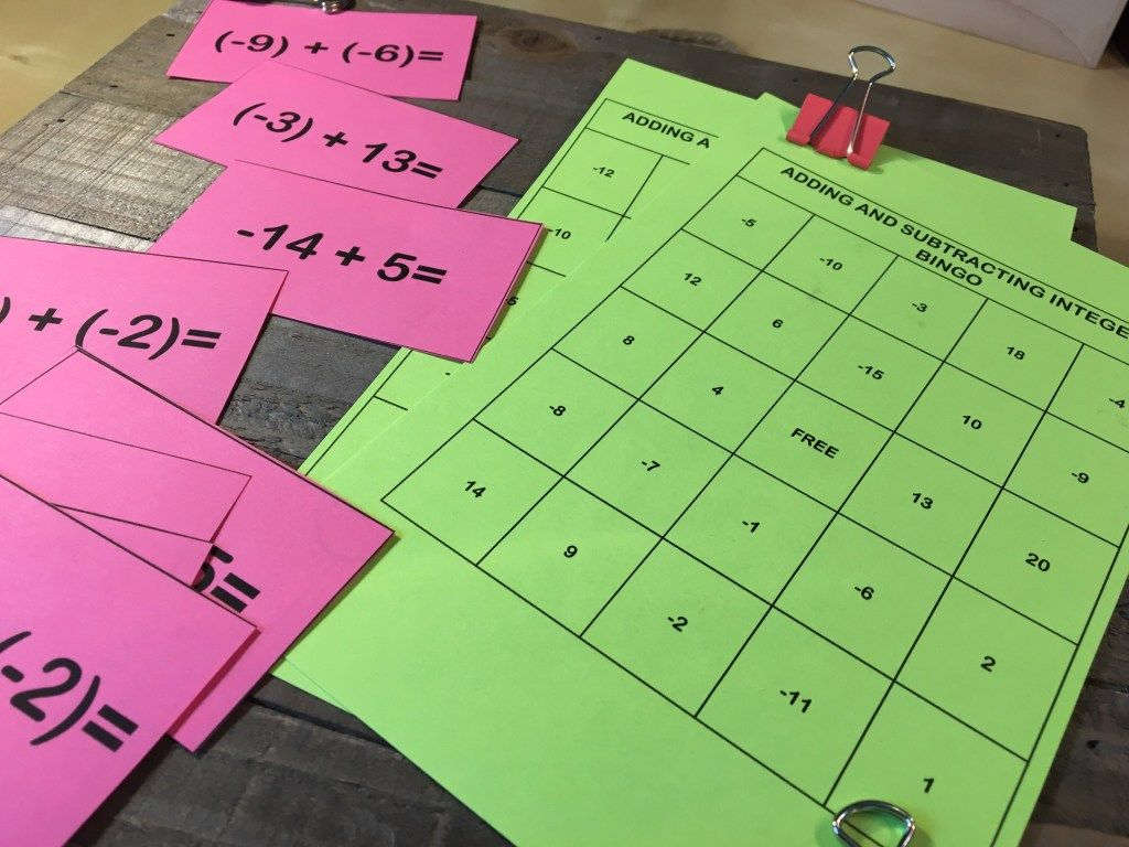 12 Engaging Ways to Practice Adding Integers Adding
