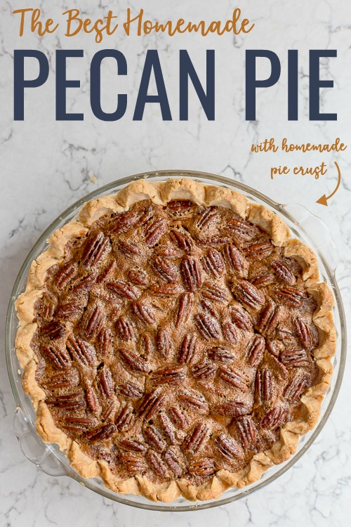The Best Pecan Pie Recipe #pecanpie