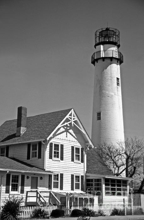 Fenwick Island lighthouse in DE.