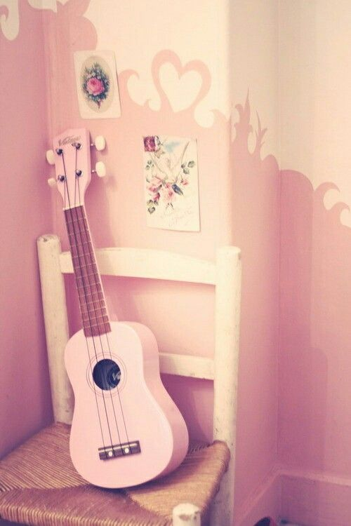 Pink Guitar Pink Guitar Wallpaper Pink Guitar Pink Music