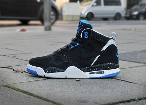 flight shoes nike | nike flight 13 mid black photo blue Nike Flight 13 Mid  Black