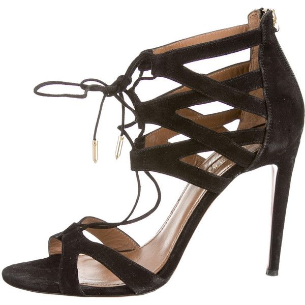 Pre-owned - Leather sandals Aquazzura