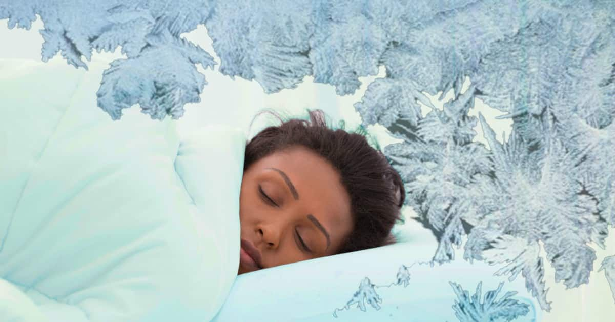 Sleeping in a cold room helps you go to sleep quicker and removes stress. - Viral Hatch | Cold room, How to fall asleep, Go to sleep