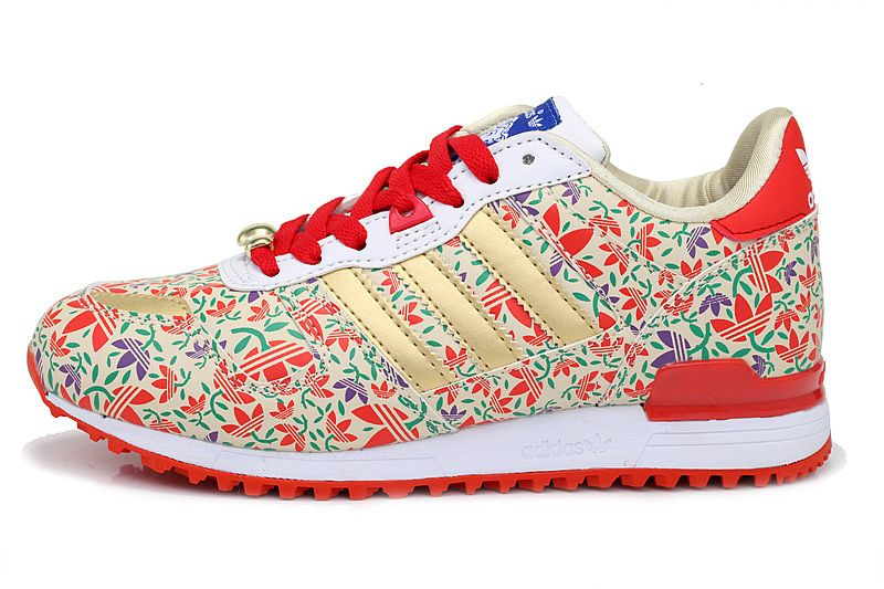 High quality Hot Sale Women Adidas Originals ZX-700 Belle K Red Multicolor,  Fashion