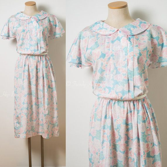 Vintage dress 60s DressMad Men Dress by TrendyHipBuysVintage