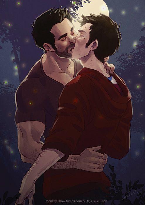 Sterek kiss