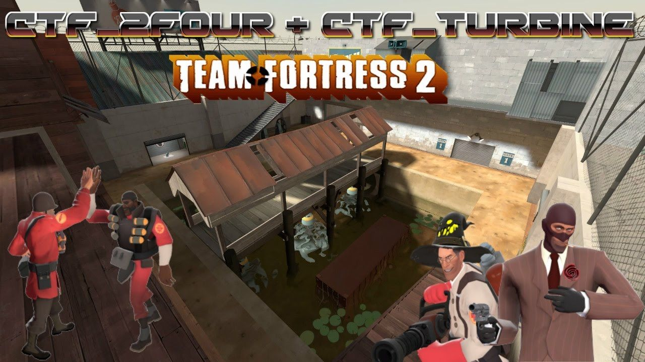 TF2: Bots Fighting it out on ctf_2bine!]-[Part 7!] | [!Video and