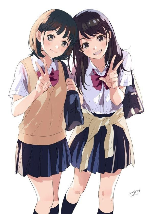 Jeunes filles cole dessin de manga news tvhland - Dessin de jeune fille ...