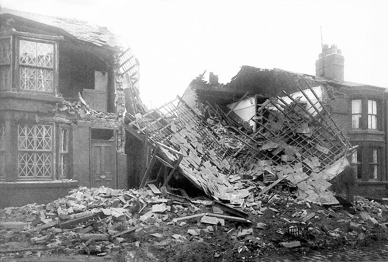 Home front liverpool homes destroyed ww2 pinterest for Cities destroyed in ww2
