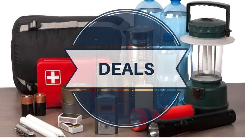 Black Friday and Cyber Monday Prepping and Survival Deals