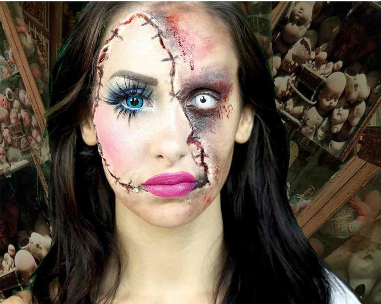 Maquillaje de bruja para halloween Maquillaje de bruja para