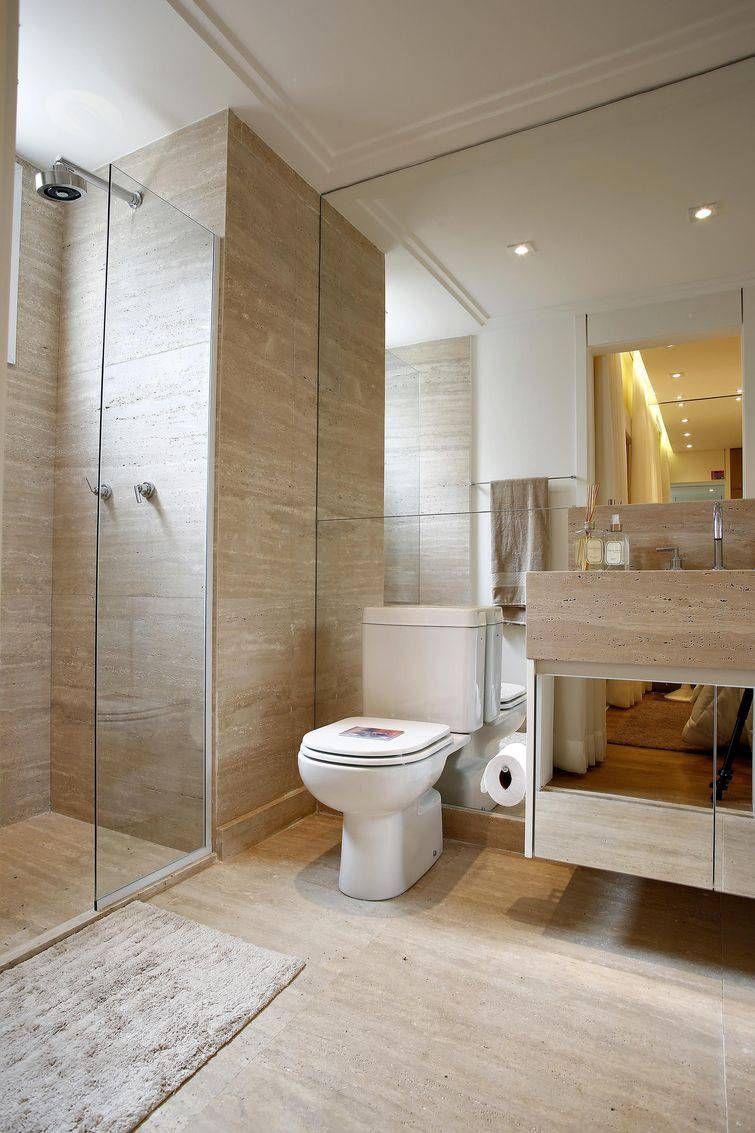 Box para banheiro 54 modelos lindos e inspiradores for Banos modernos para apartamentos pequenos