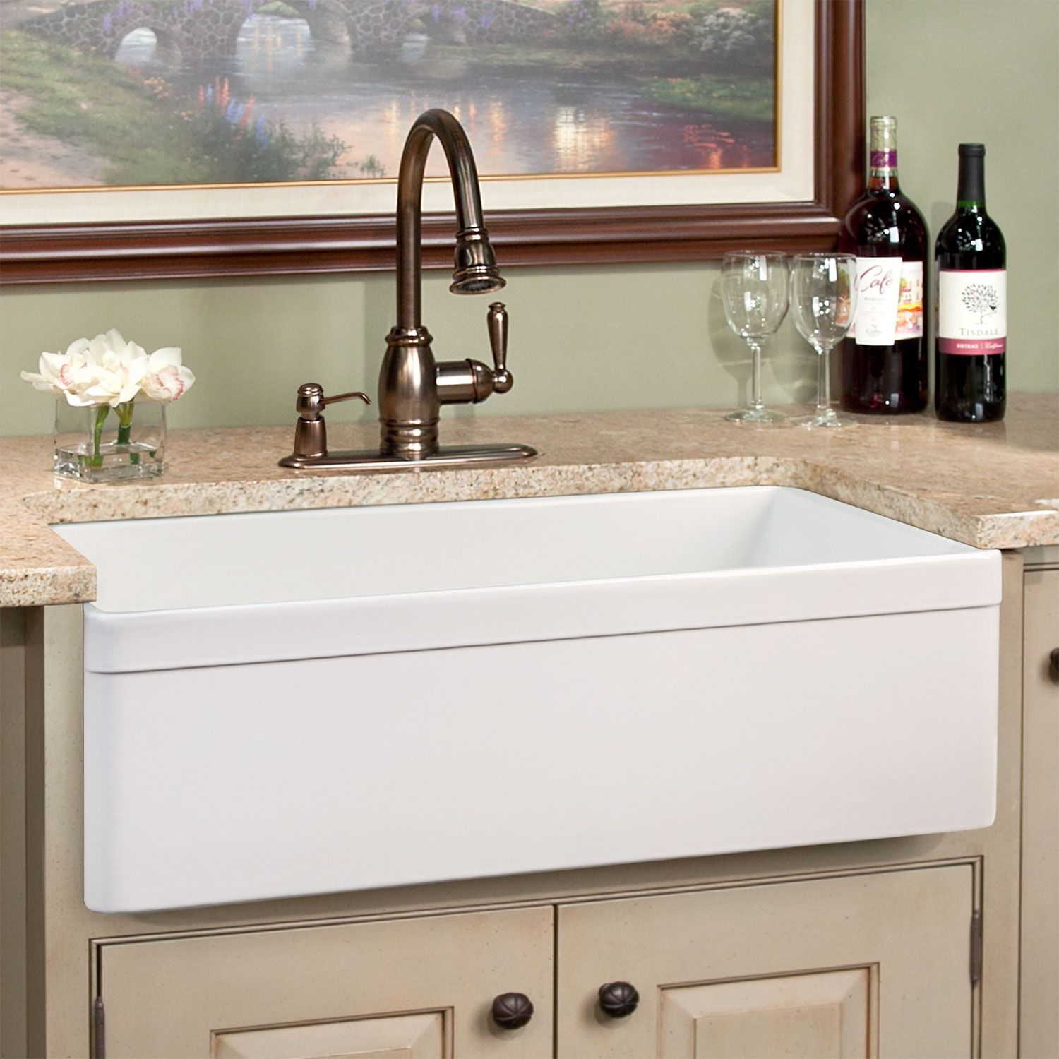 Discounted Farm Kitchen Sinks Kitchen Sink Cast Iron