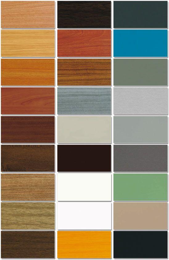 Colori Alluminio Per Infissi Essenze E Colori Di Rivestimento Per Serramenti In Pvc Colori Alluminio Legno