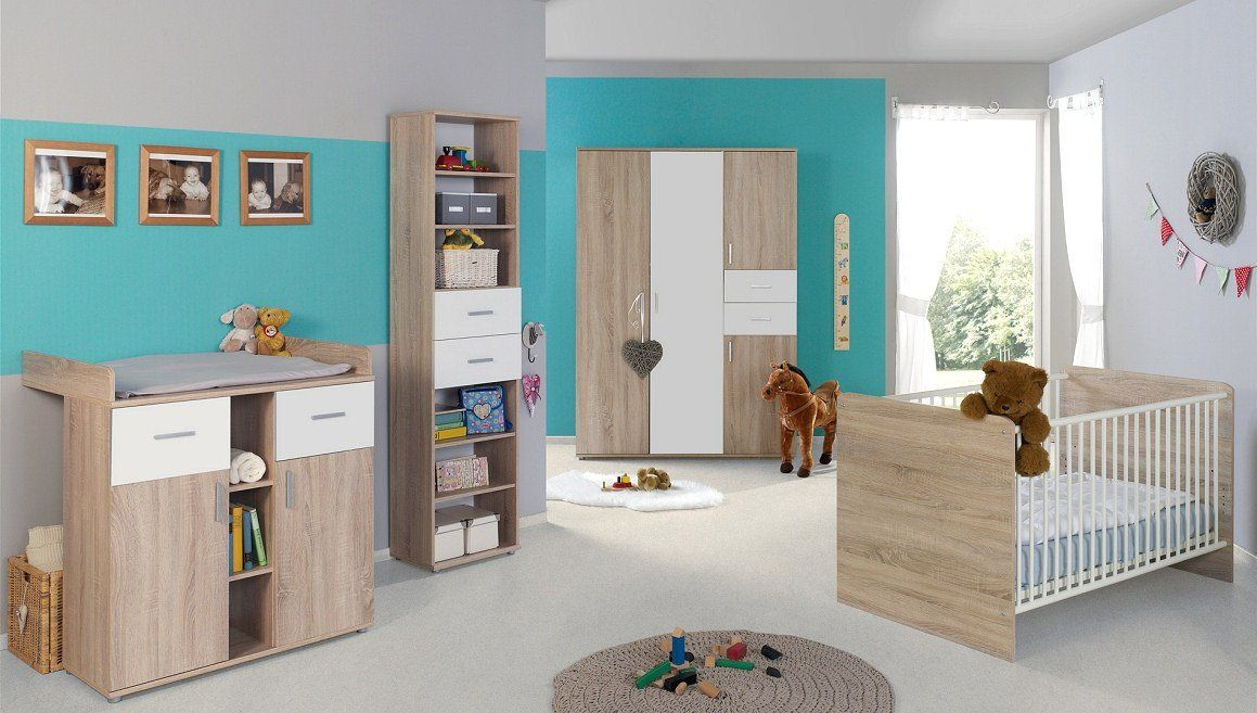 Babyzimmer Kinderzimmer Komplettset Elisa 4 In Eiche