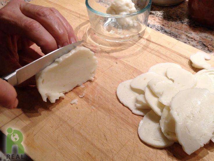 You Ll Be Buffaloed By This Vegan Mozzarella Vegan Cheese Vegan Mozzarella Vegan Cheese Recipes
