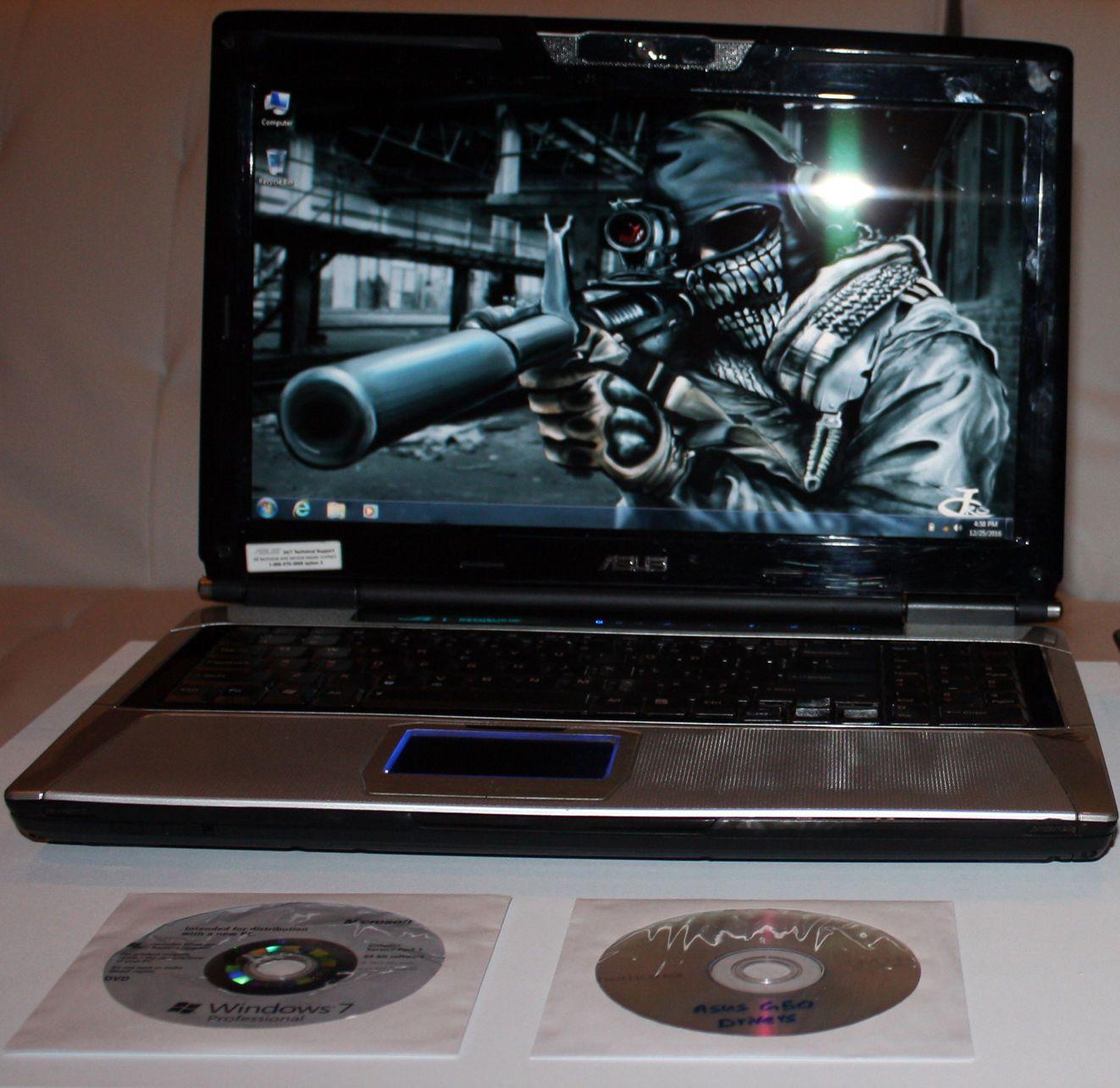 Asus G50 Gaming Laptop 2 26ghz 1 Terabyte Hdd 4gb Ram N Geforce 9800m Win 7 Computer Security Best Laptops Terabyte