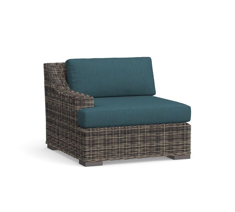 Huntington Slope Arm Sunbrella Outdoor Furniture Cushion