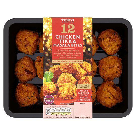 12 Chicken Tikka Bites 300g Food Tesco Food Tesco Groceries