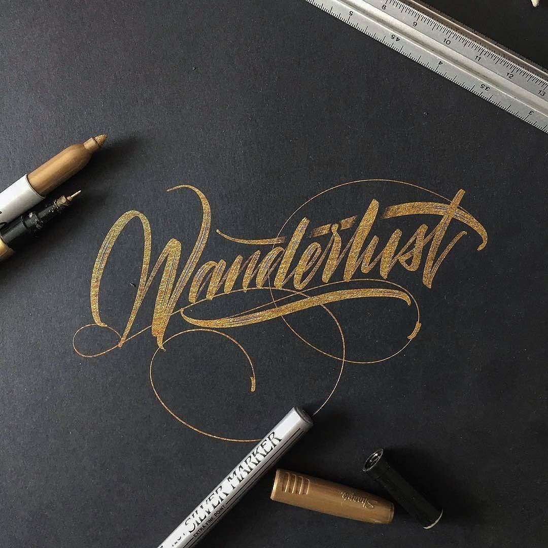 Beautiful work by @mdemilan - #typegang - typegang.com | typegang.com #typegang #typography