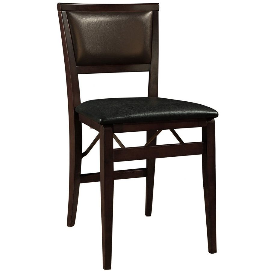 Busse Vinyl Padded Folding Chair Folding Dining Chairs