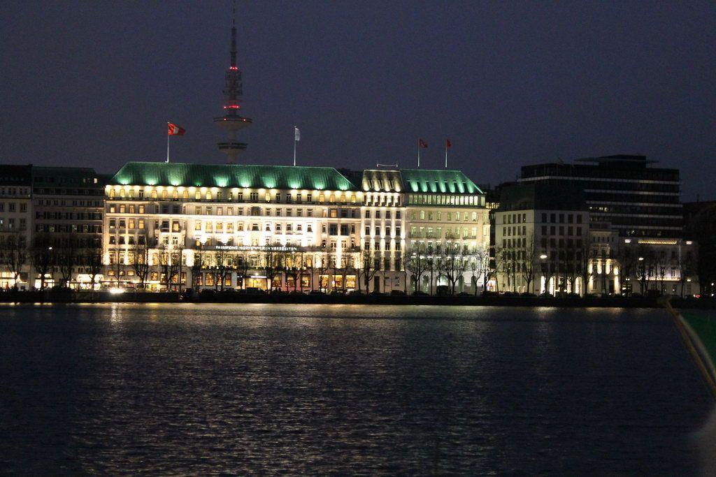 Hamburg Alster Nacht Hotel Vier Jahreszeiten