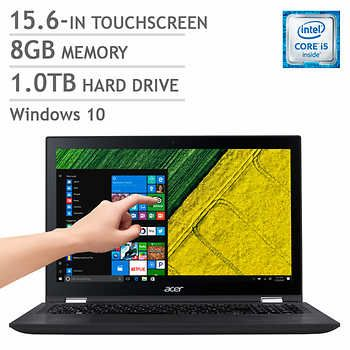 Acer Spin 3 2-in-1 Bilingual Notebook, i5-6200U