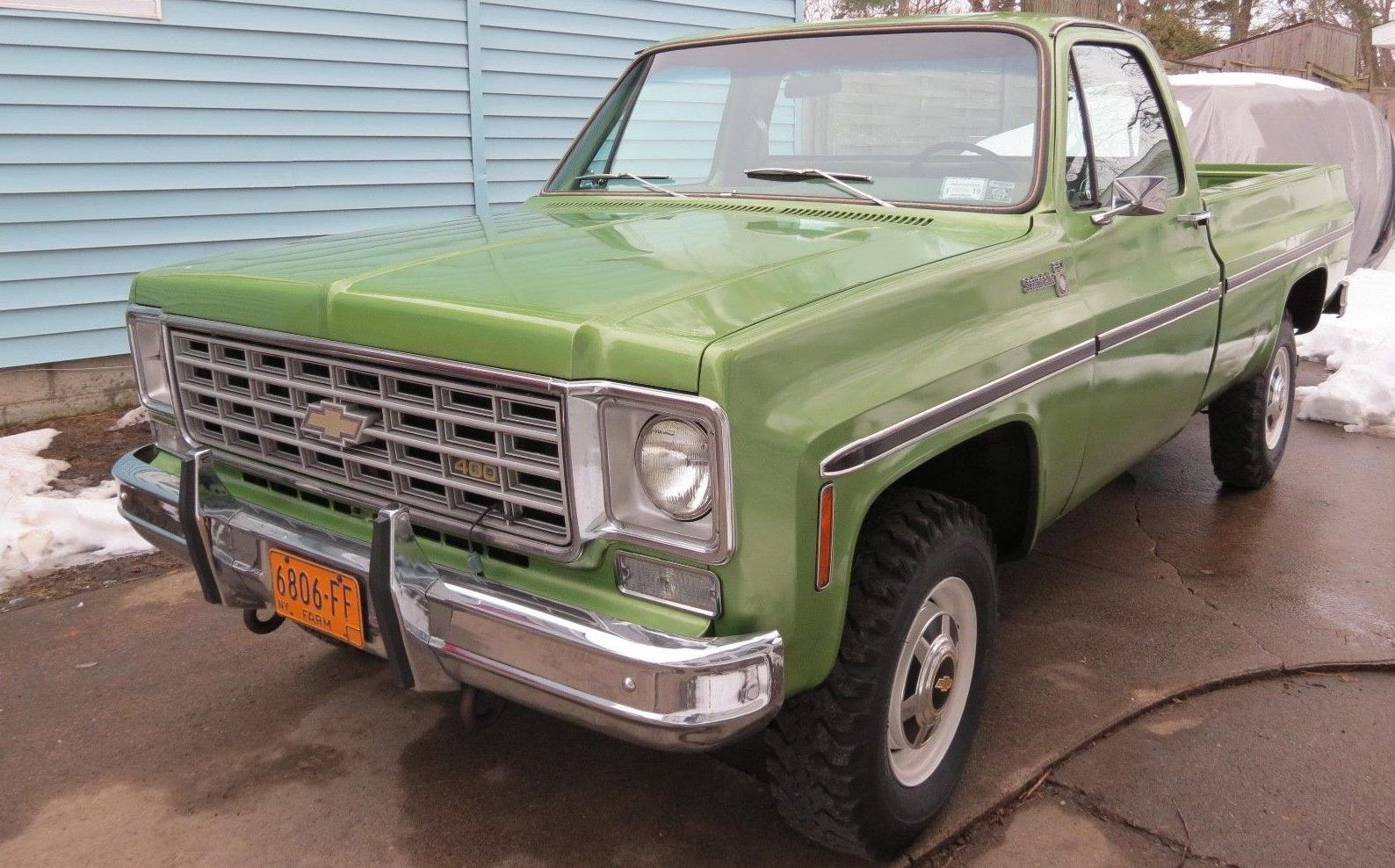 Green Thing 1976 Chevrolet K20 4 Wheel Drive Pickup Trucks