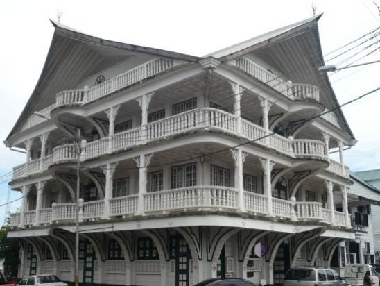 Suriname has some amazing architecture.... travel photo from ...