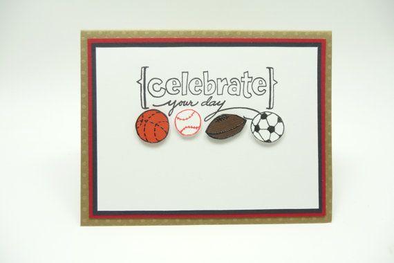 Mens birthday card mens sports greeting card by periwinklecards mens birthday card mens sports greeting card by periwinklecards m4hsunfo