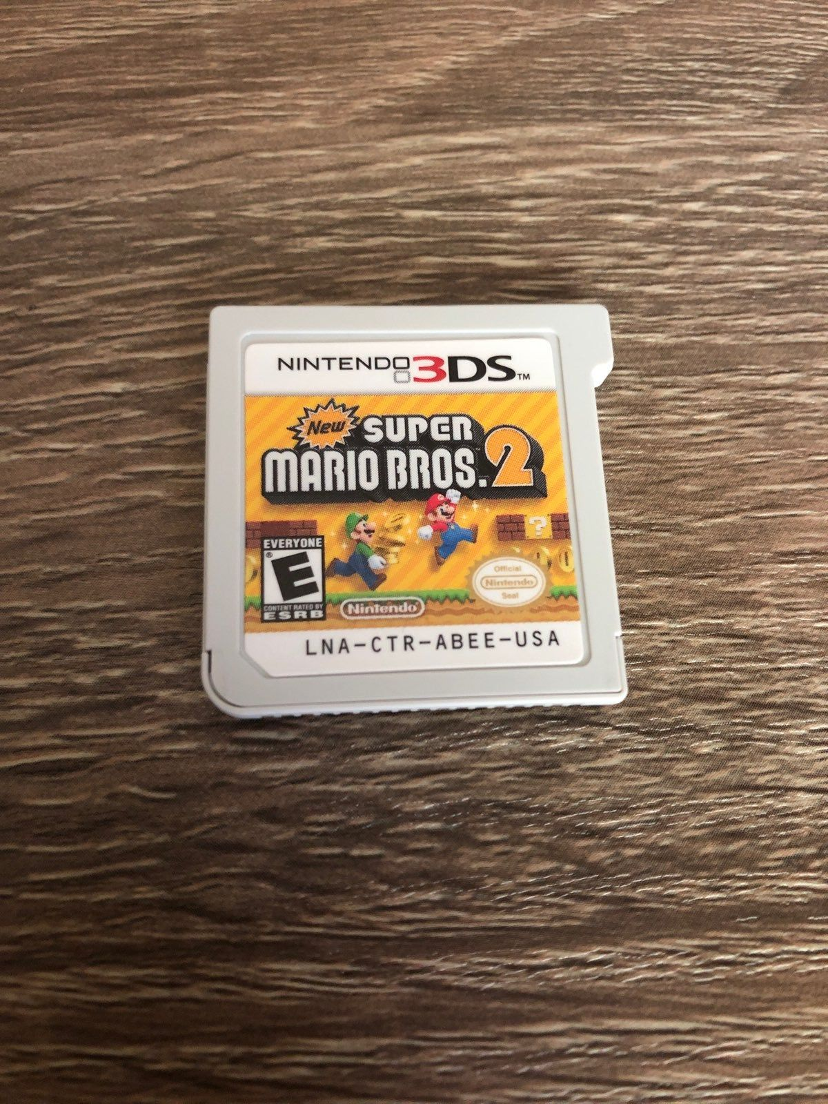 New Super Mario Bros 2 Cartridge Only 3ds Is Shown Only To Prove That The Game Works Great Game In Great Condition Mario Bros Super Mario Bros Super Mario