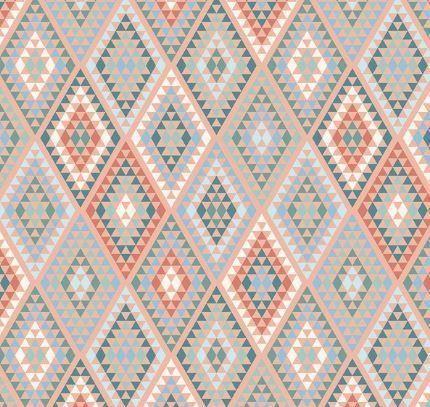Dream Weaver Peach Diamonds by Amanda Castor for Riley Blake Fabrics 21653