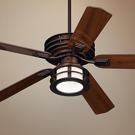 """52"""" Casa Vieja Mission II Bronze Outdoor Ceiling Fan ..."""