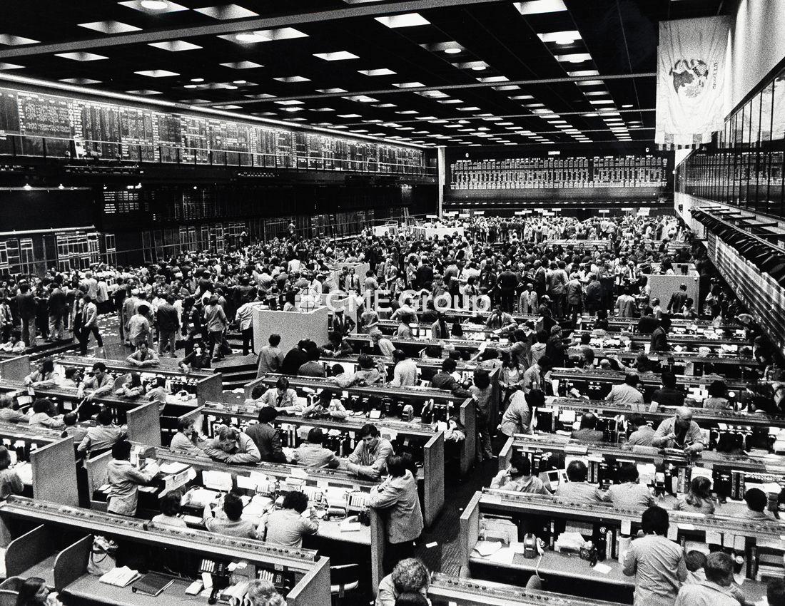 Historical Photo Trading Floor Commodity Trading Historical Photos Photo