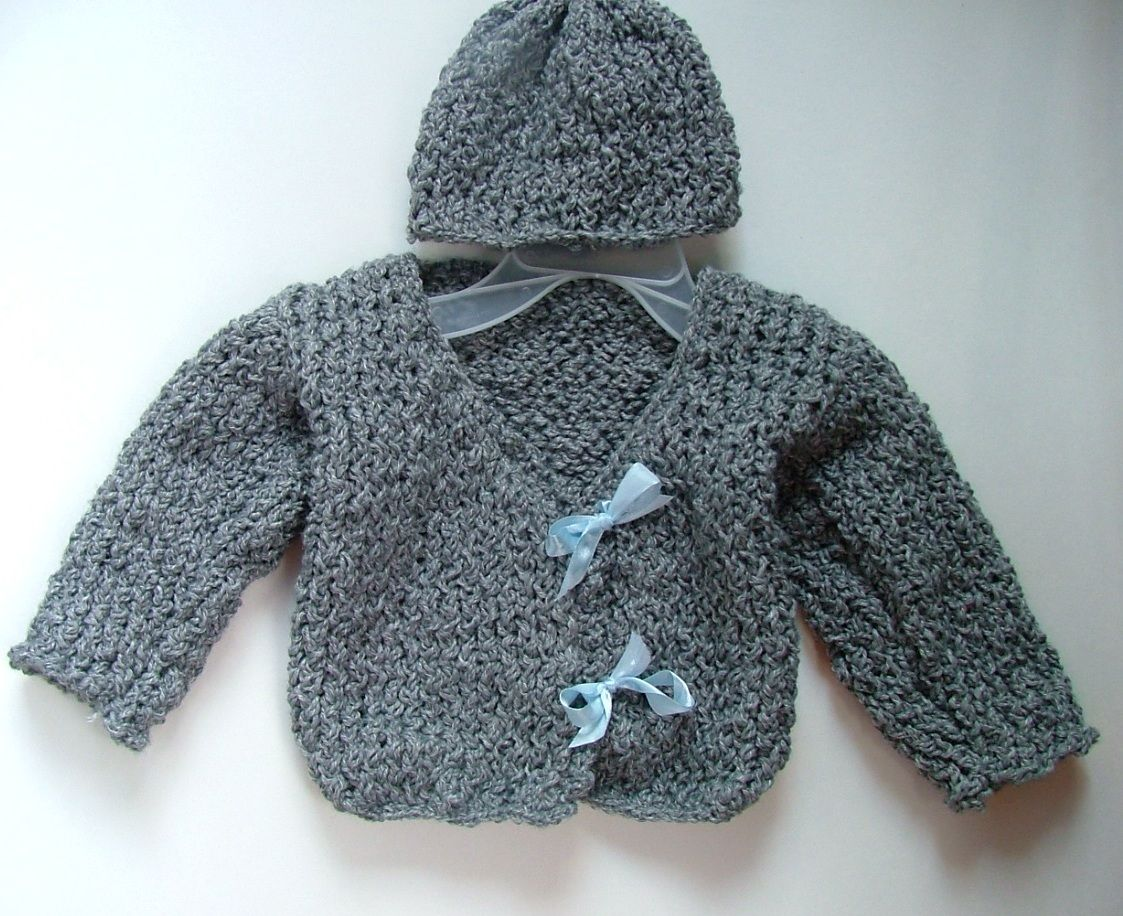 The Loom Knit Baby Sweater | Loom knitting, Crochet and Knit crochet
