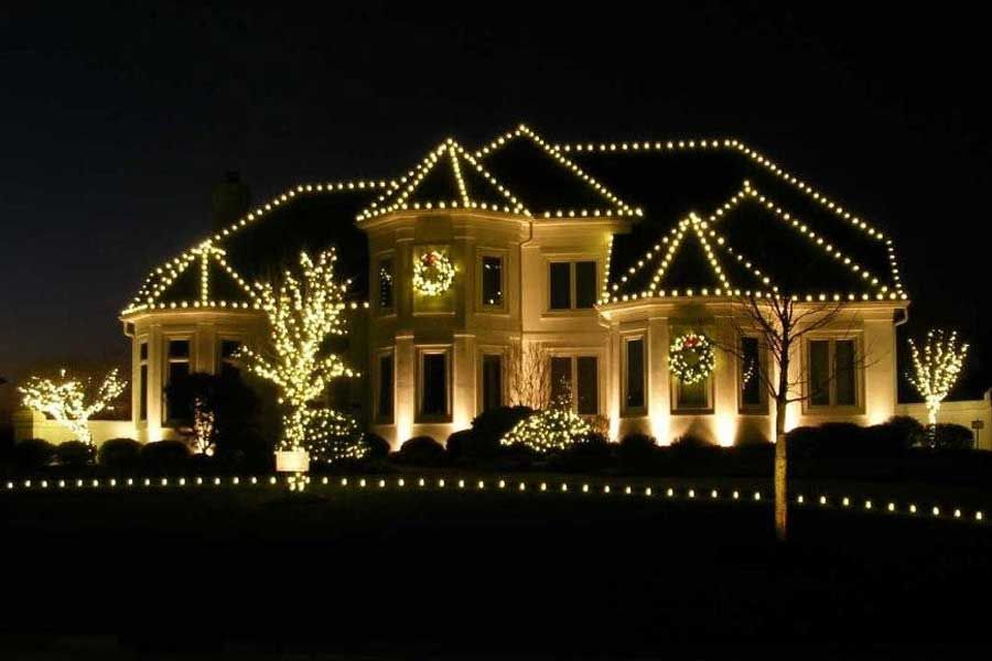 Residential Holiday Decorating And Christmas Light Service Portfolio Christmas Decor Christmas Lights Christmas Light Installation Christmas Lights Inside