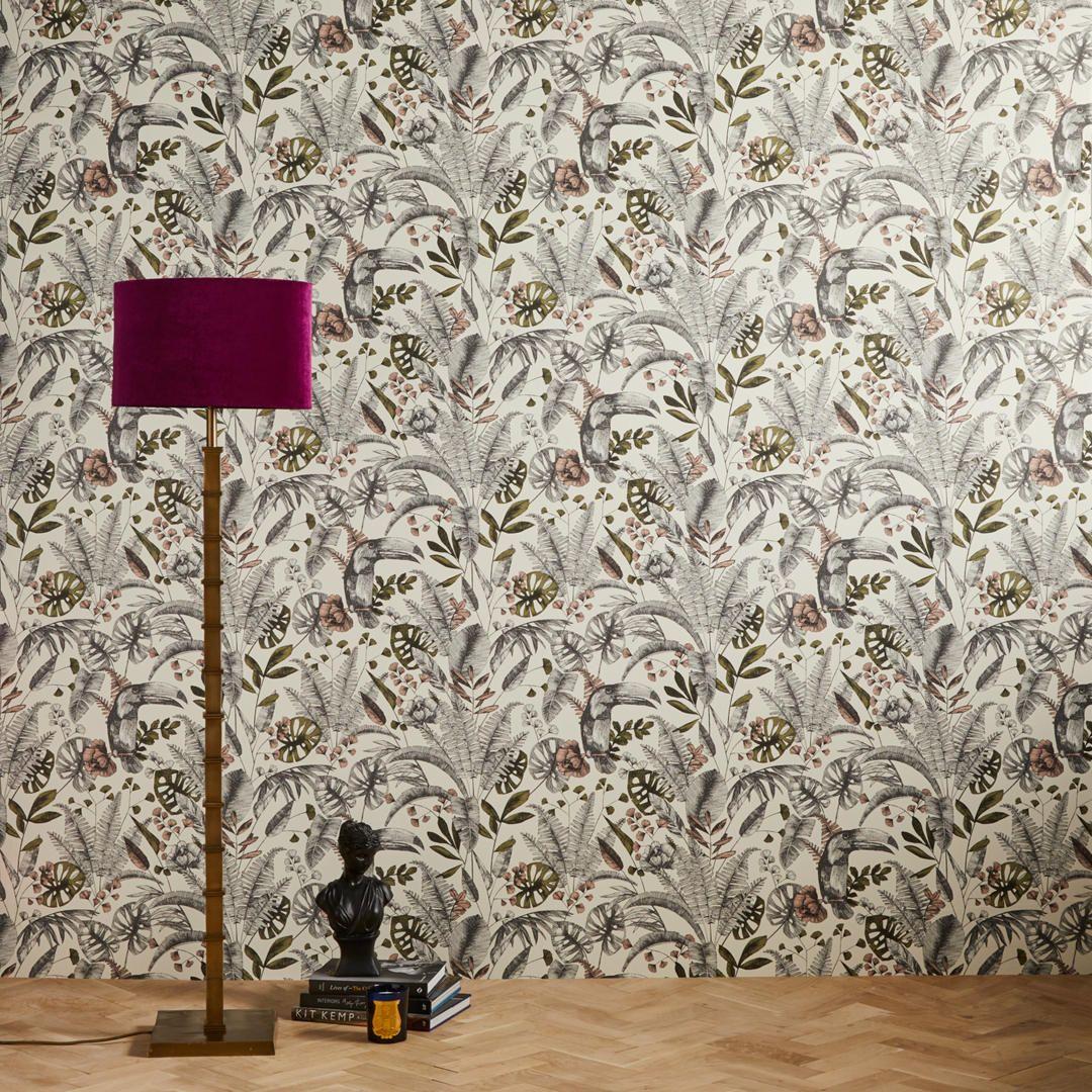 Buyjohn Lewis Ipanema Heritage Wallpaper Plaster Pink Onlin