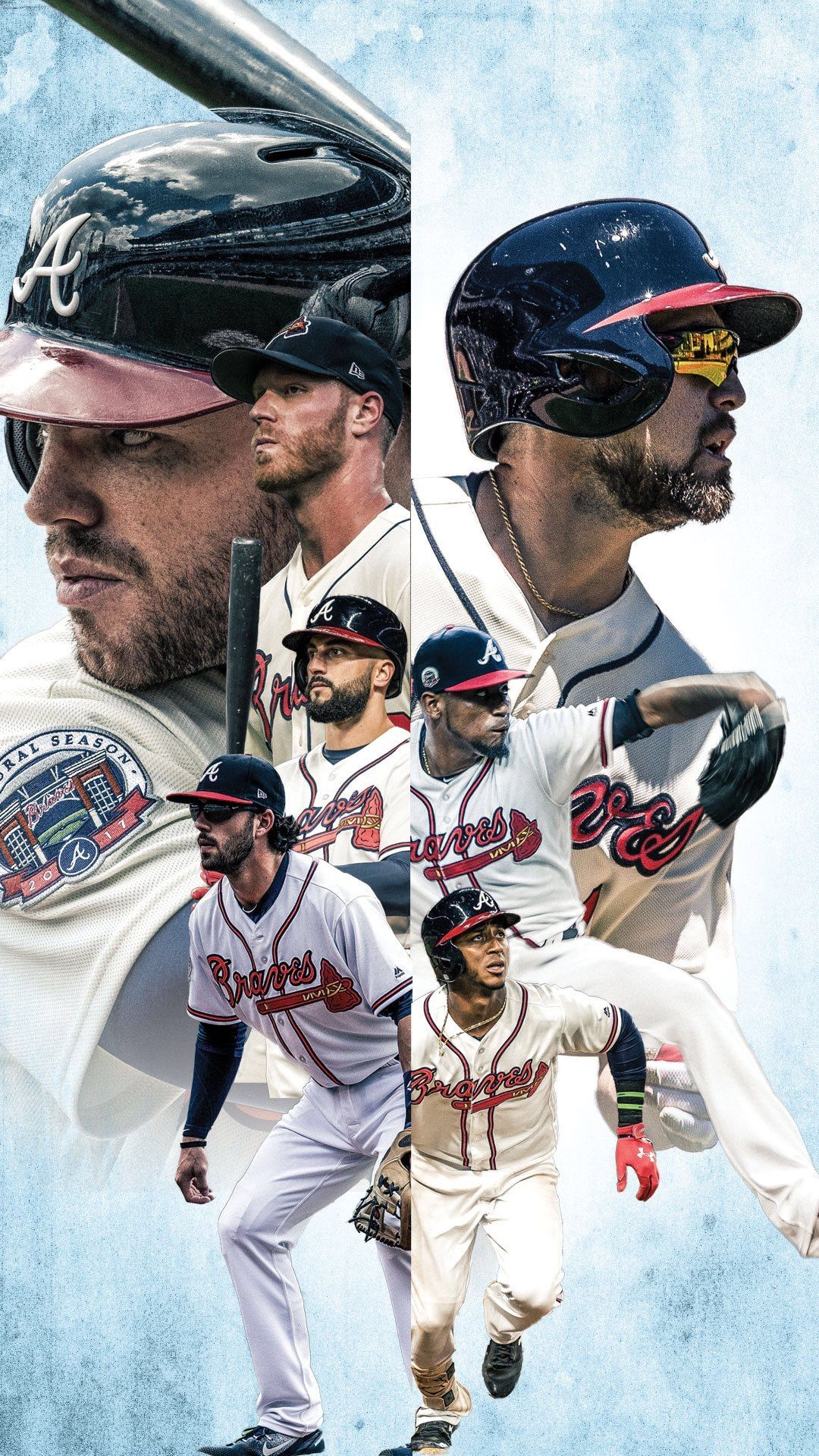 Braves Baseball Braves Baby Los Wallpaper Bravos Atlanta