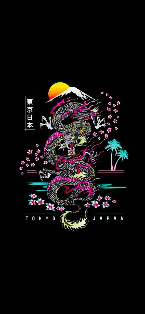 Japanese Dragon wallpaper by SSzone - 0e - Free on ZEDGE™
