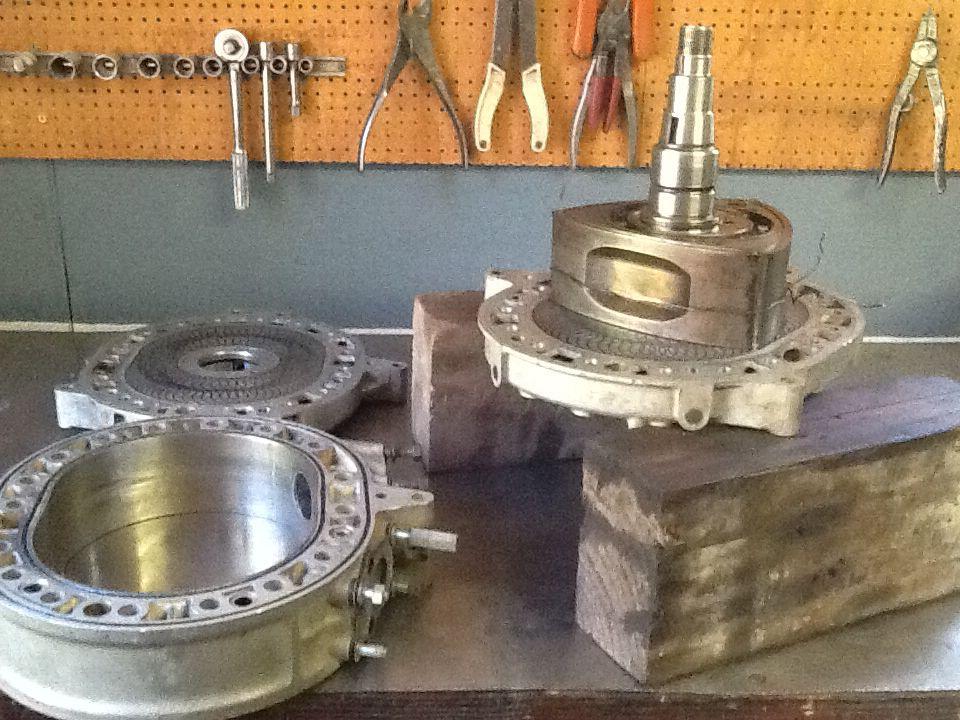 "Assembling Suzuki RE5 rotary, ""proper unit"" Suzuki, The"