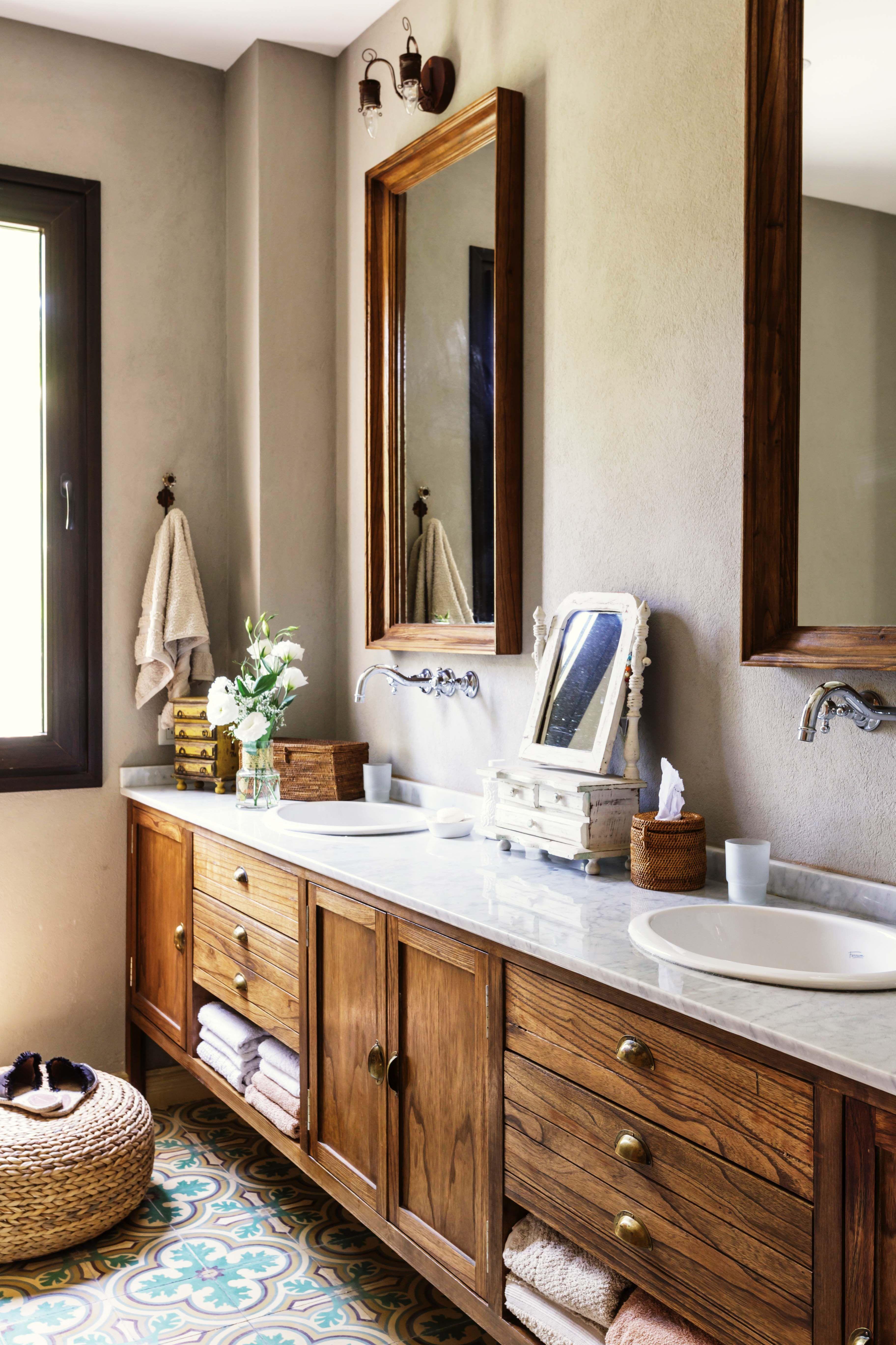 Net y country: dos estilos para tu baño   Herrajes de ...