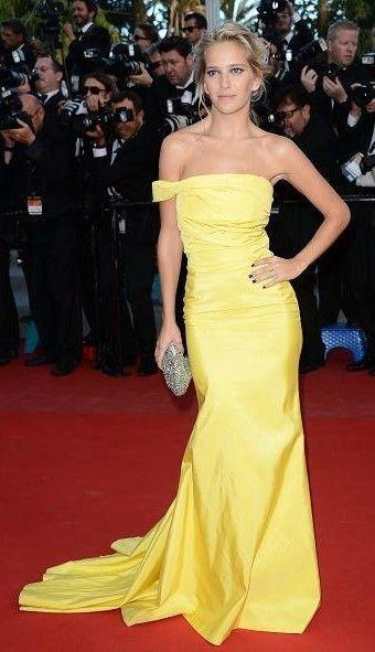 Luisana Lopilato en Cannes
