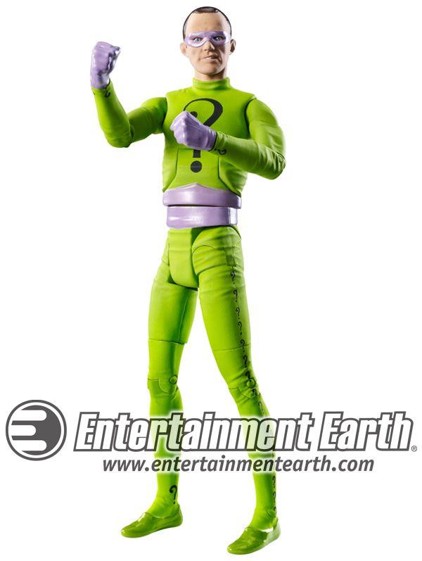batman 1960, action figer   ... 1960s Batman TV Series Toys Riddler Frank gorshin action figure
