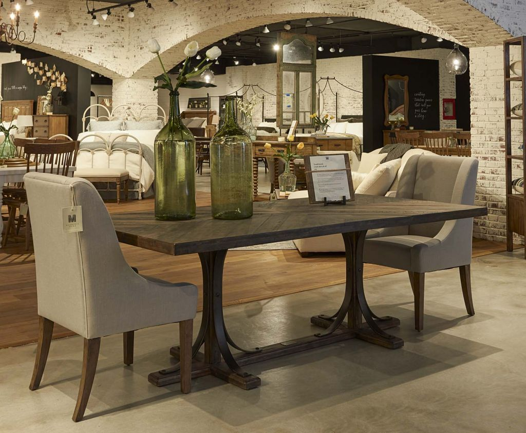 Chip And Joanna Gaines Of The Hgtv Show Fixer Upper Have Launched A New Line Furniture Magnolia Home Manufactured By Standard In Alabama