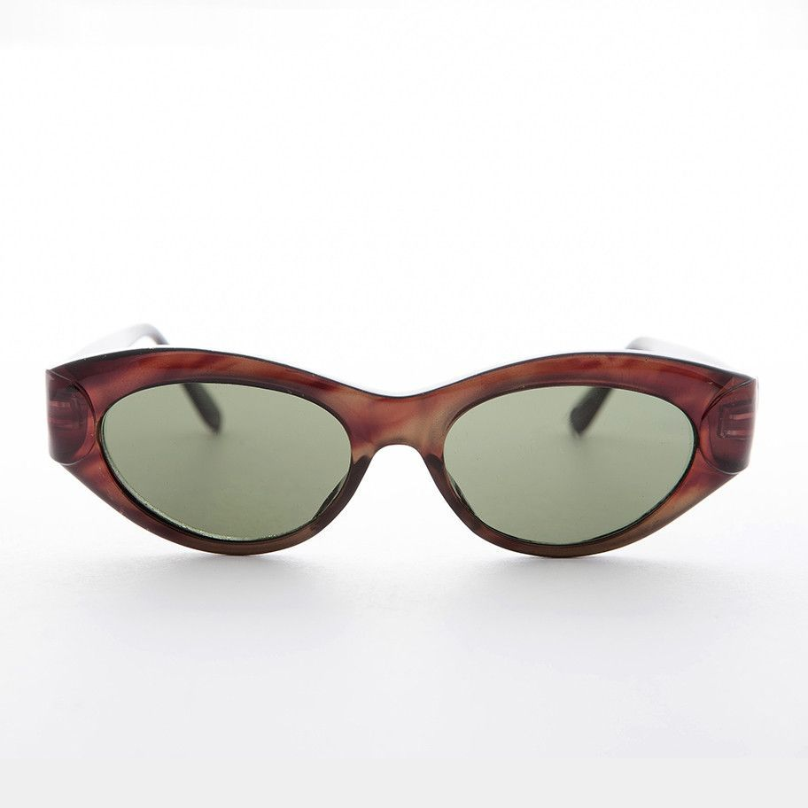 1f65ed1d79 Womens Oval Cat Eye Vintage Sunglass - Vivian