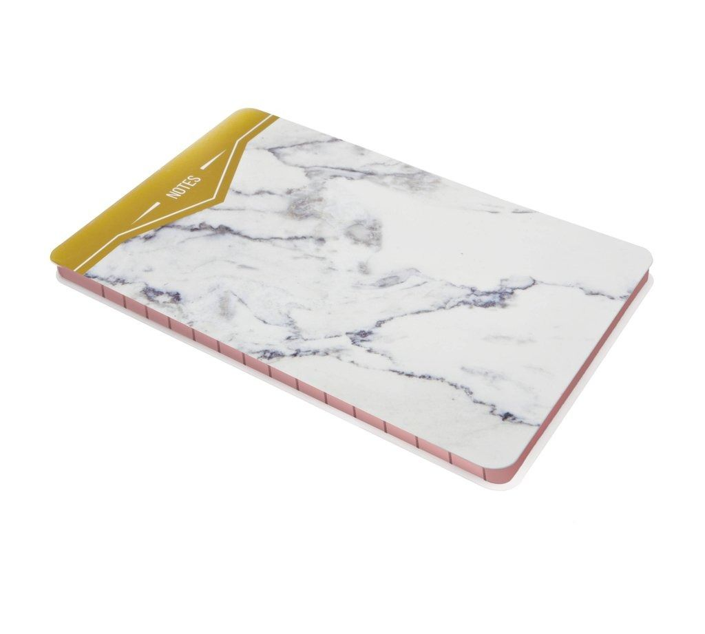 We can't keep our eyes off marbleized products. The look gives everything a pretty, sophisticated boost. If you want to step your desk game up, these marble items will do the