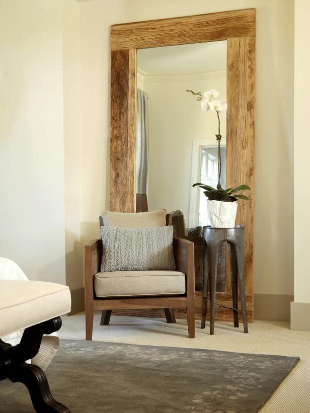 Espejo de piso rustico sweet home pinterest espejos - Espejos rusticos ...