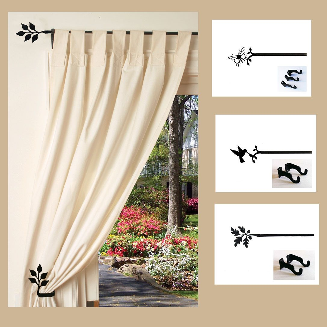 Adjustable Curtain Rods Curtain Rods Curtains Window Treatments