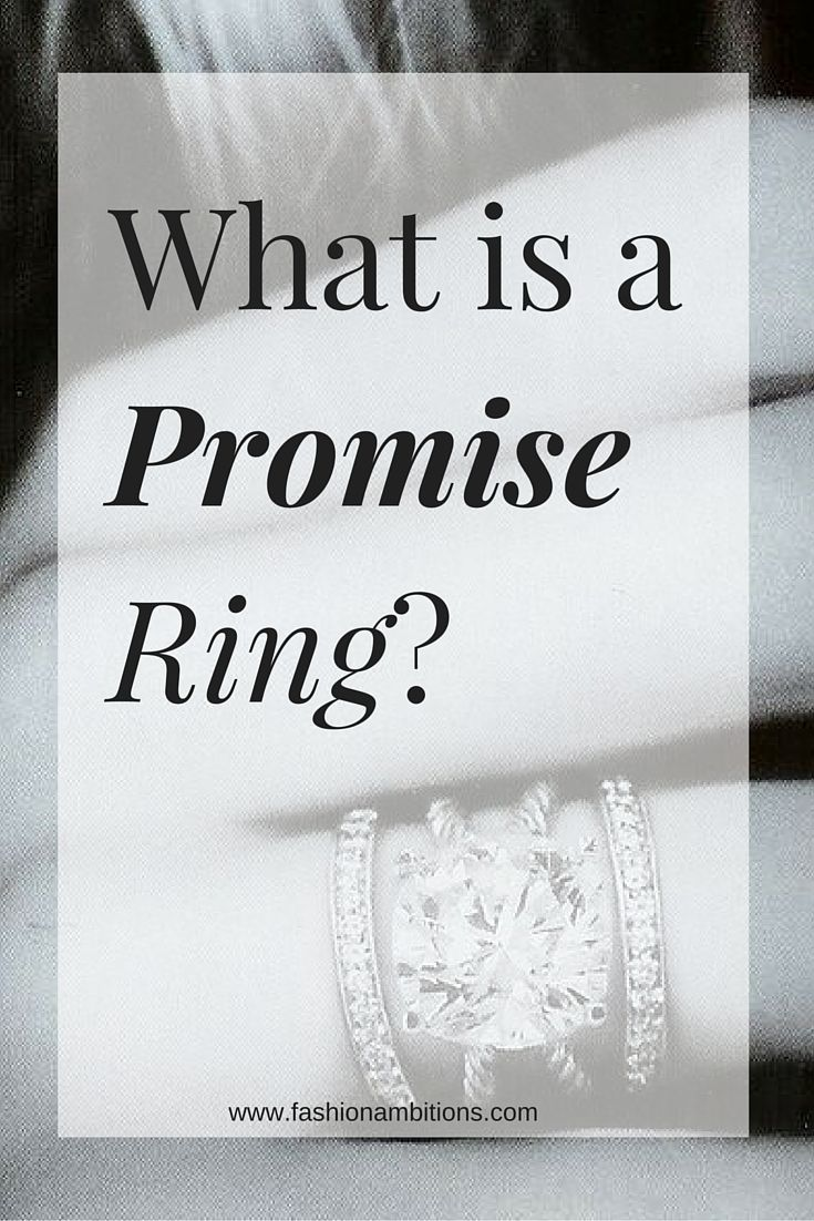 What is a Promise Ring? Promise rings, Promise ring